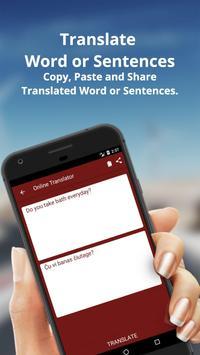 English to Esperanto Dictionary & Translator screenshot 1