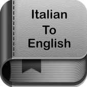 Italian To English Dictionary and Translator App icon