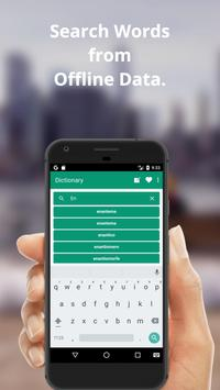 Italian To English Dictionary and Translator App screenshot 2