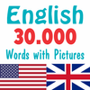 English 30000 Words with Pictures icône