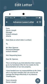 English Letter & English Application Writing screenshot 10