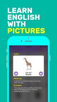İngilizceyi Resimlerle Öğren Ekran Görüntüsü 1