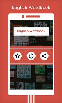 English WordBook screenshot 1