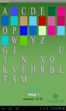 Alphabet Puzzle screenshot 1