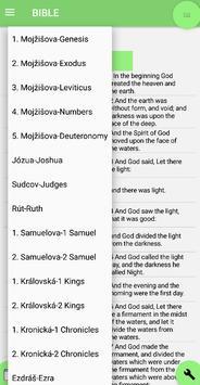 Czech Bible English Bible Parallel screenshot 4