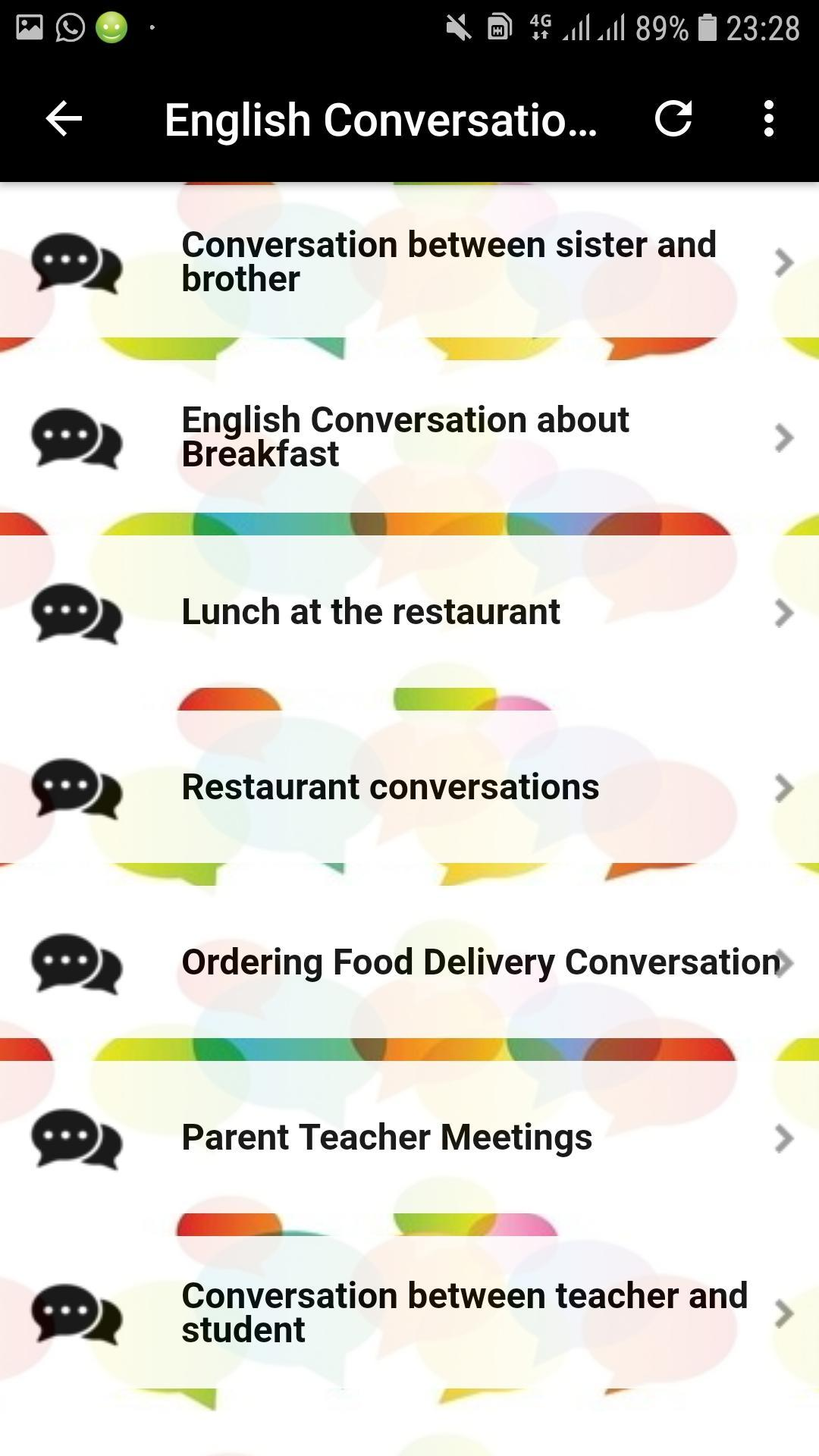 English Conversations Offline for Android - APK Download