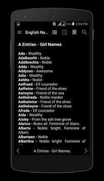 English Names for Android - APK Download