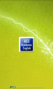 AGS English poster