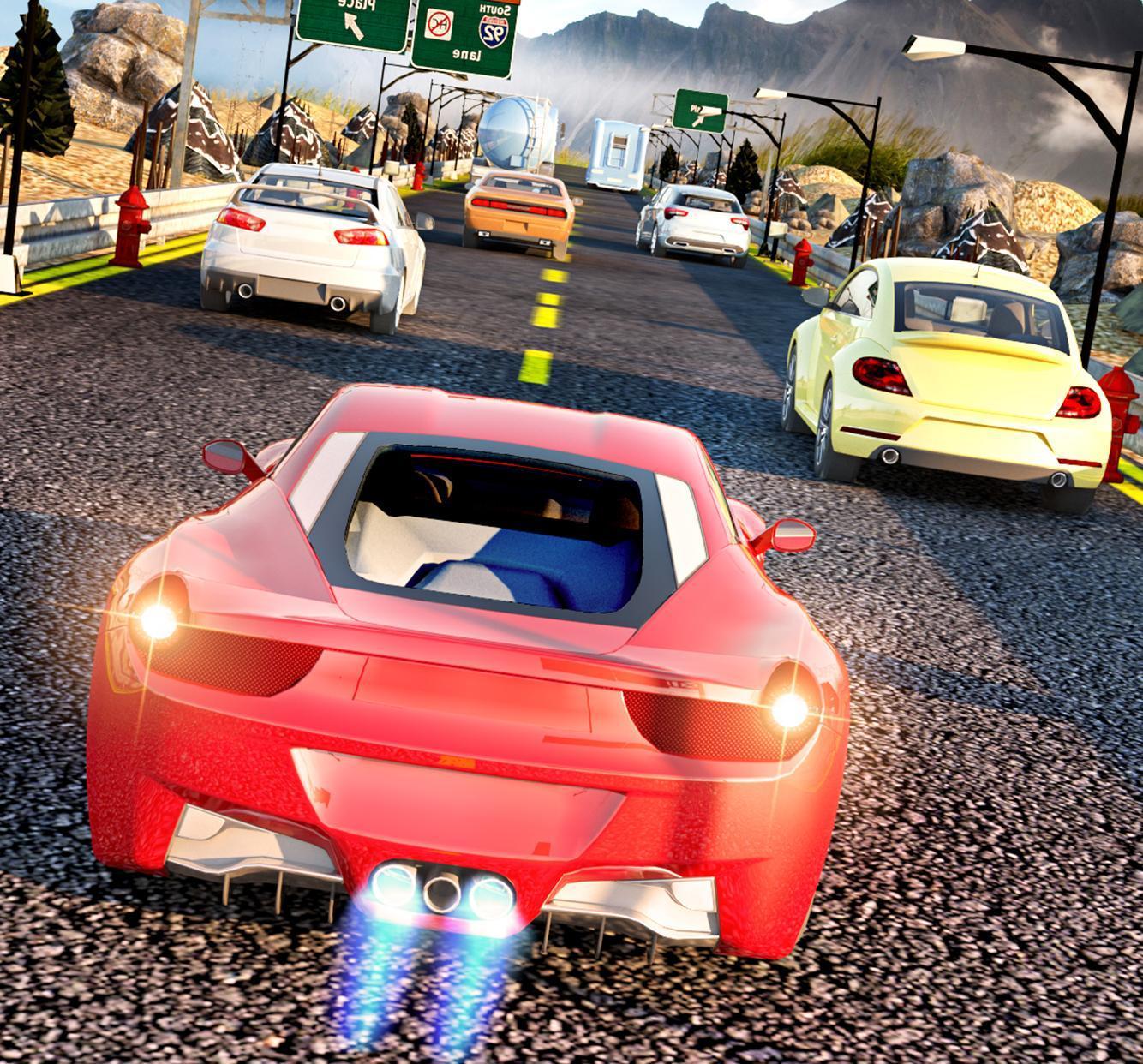 Highway X Car Racing 2019: Car Offline Games 3D For
