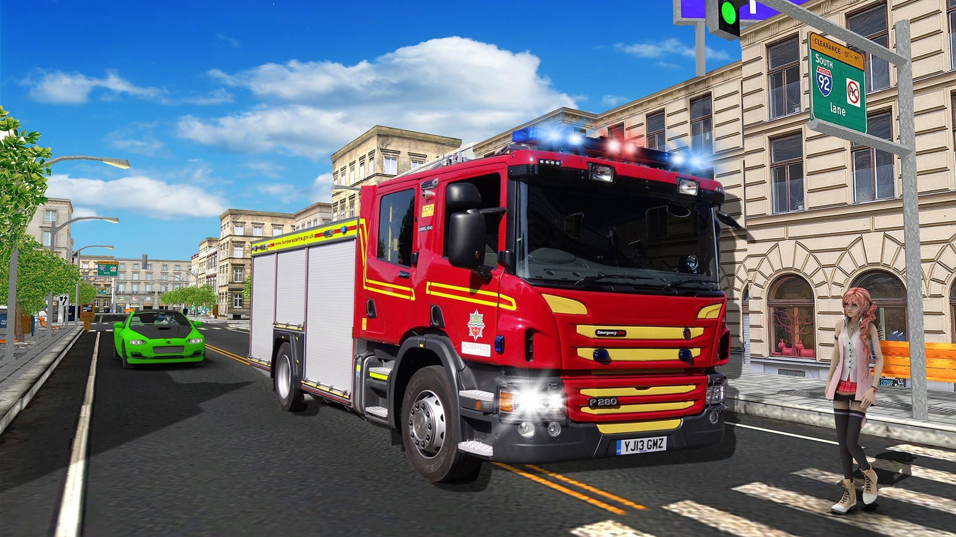 NY City Firefighter Driving Simulator 2019 for Android - APK