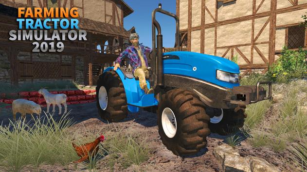 Real Tractor Farming Simulator 3D:New Tractor Game screenshot 2