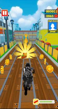 Subway Army Rush Runner screenshot 5