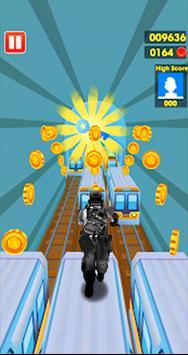 Subway Army Rush Runner screenshot 6