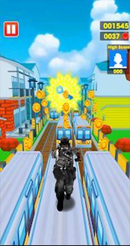 Subway Army Rush Runner screenshot 3