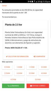 Solar Plant PV Calculator screenshot 1