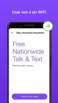 TextNow captura de pantalla 1