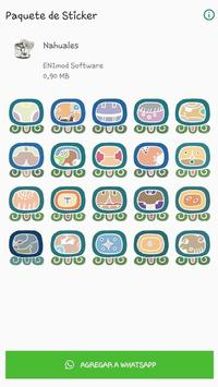Stickers Nahuales Mayas poster