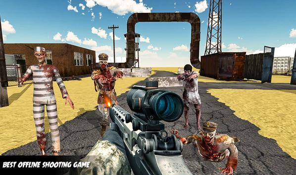 Zombie Apocalypse Virus War Survival Shooting 2019 screenshot 4