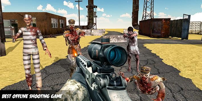 Zombie Apocalypse Virus War Survival Shooting 2019 poster
