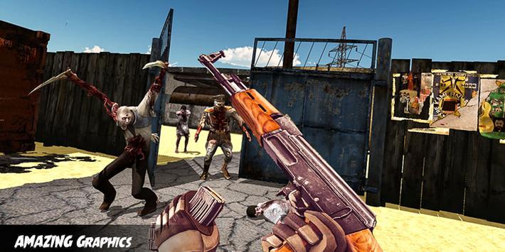 Zombie Apocalypse Virus War Survival Shooting 2019 screenshot 2