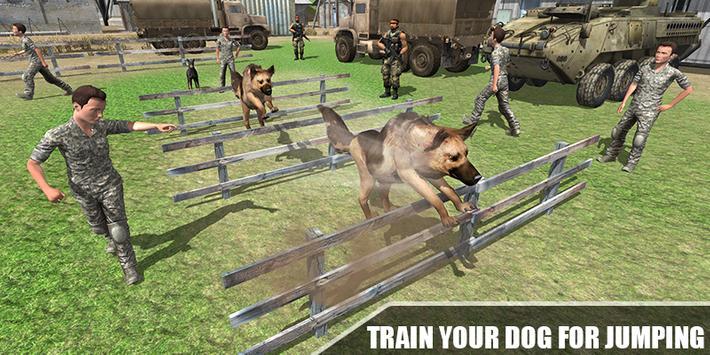 Army Dog Training Simulator - Border Crime 2020 screenshot 1