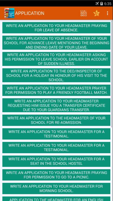 Bengali Letter Writing To Headmaster