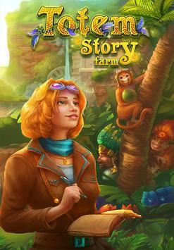 Totem Story Farm Affiche