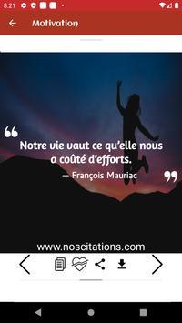 Citations De Motivation Et Inspiration screenshot 3