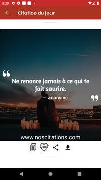 Citations De Motivation Et Inspiration screenshot 9