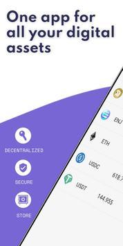 Enjin: Bitcoin, Ethereum, Dompet Kripto NFT poster