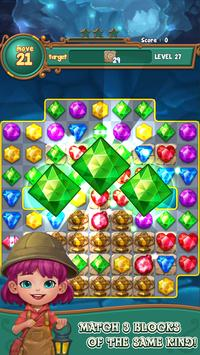Jewels fantasy:  Easy and funny puzzle game poster
