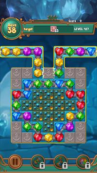 Jewels fantasy:  Easy and funny puzzle game screenshot 14