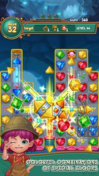 Jewels fantasy:  Easy and funny puzzle game screenshot 17