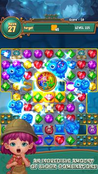 Jewels fantasy:  Easy and funny puzzle game screenshot 18