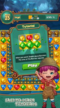 Jewels fantasy:  Easy and funny puzzle game screenshot 3