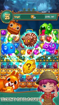 Jewels fantasy:  Easy and funny puzzle game screenshot 4