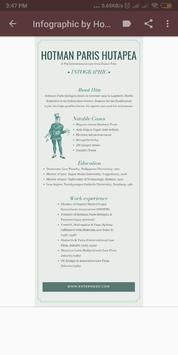 Infographic and Some Quotes by Hotman Paris screenshot 1