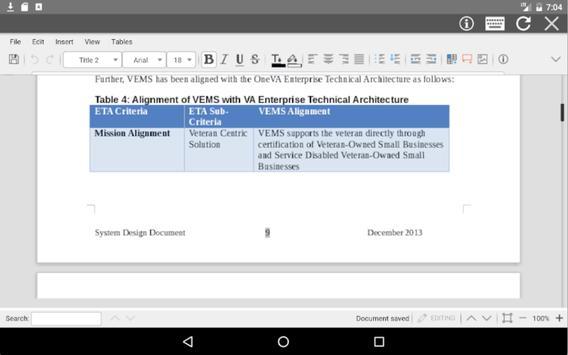 AndrOffice screenshot 8