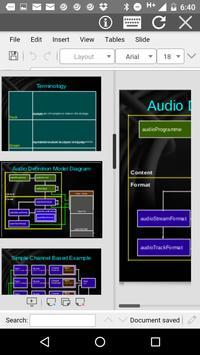 AndrOffice screenshot 2