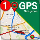 GPS 항해 & 지도 방향 - 노선 파인더 아이콘