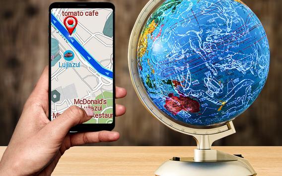 GPS 항해 & 지도 방향 - 노선 파인더 포스터