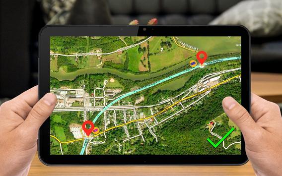 GPS 항해 & 지도 방향 - 노선 파인더 스크린샷 18