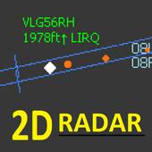 ADSB Flight Tracker Lite 圖標