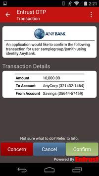 Entrust IdentityGuard Mobile screenshot 1
