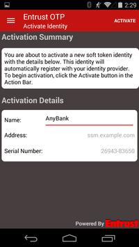Entrust IdentityGuard Mobile screenshot 4