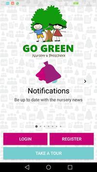 Go Green Nursery and Pre-school poster
