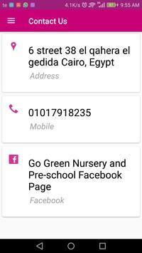 Go Green Nursery and Pre-school screenshot 2