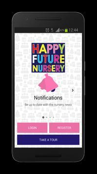 Happy Future Nursery poster