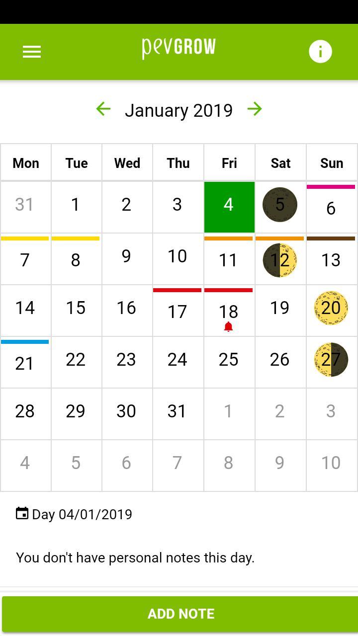 Calendario Lunar Cannabico 2019 Espana.Calendario Lunar Marihuana 2019 For Android Apk Download