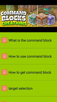 Command Block Guia poster
